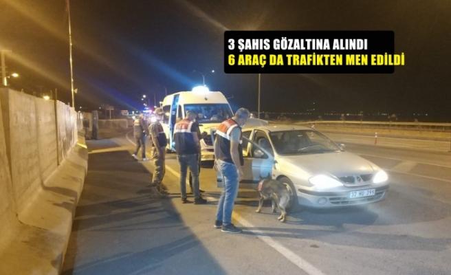 Kahramanmaraş'ta uyuşturucu operasyonu; 3 gözaltı