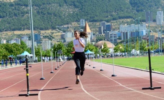 KSÜ Beden Eğitimi ve Spor Yüksekokulu Özel Yetenek Sınavı Tamamlandı