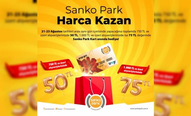 SANKO Park'ta Harcamalarınız Paraya Dönüşüyor