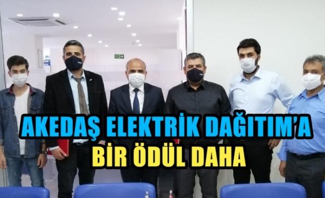 Akedaş Elektrik Dağıtım'a Bir Ödül Daha