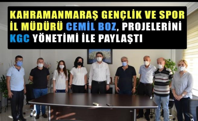 Boz: Kahramanmaraş'a Doğa Kamp Alanı Kazandırmak İstiyorum