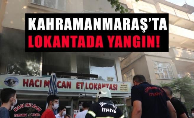 Kahramanmaraş'ta Lokantada Yangın