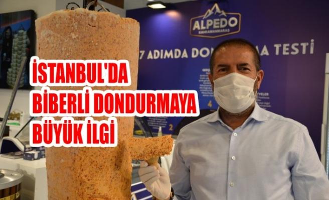 İstanbul'da Biberli Dondurmaya Büyük İlgi