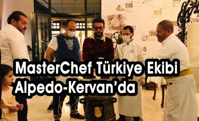 MasterChef Türkiye Ekibi Alpedo-Kervan'da