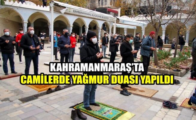 Kahramanmaraş'ta Camilerde Yağmur Duası Yapıldı