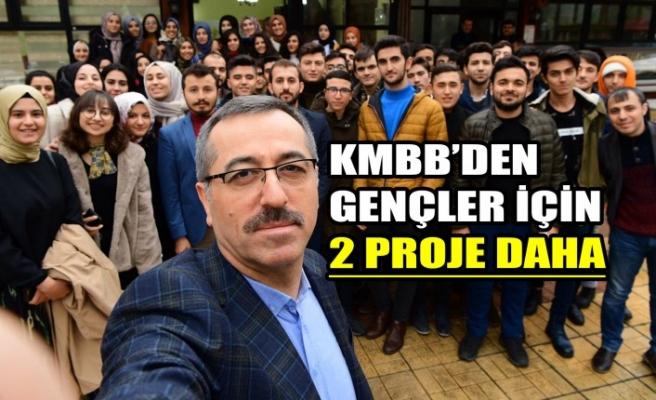 KMBB'den Gençler İçin 2 Proje Daha