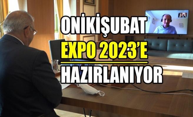 Onikişubat EXPO 2023'e Hazırlanıyor