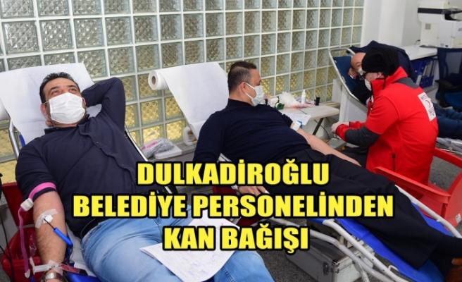 Dulkadiroğlu Belediye Personelinden Kan Bağışı