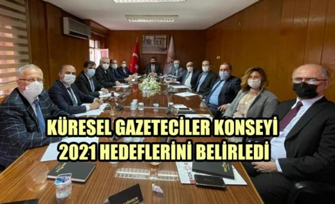 KGK 2021 Hedeflerini Belirledi