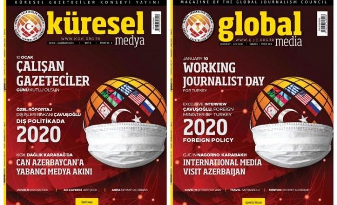 KGK Küresel Medya Dergisi'nin 10 Ocak Özel Sayısı Çıktı