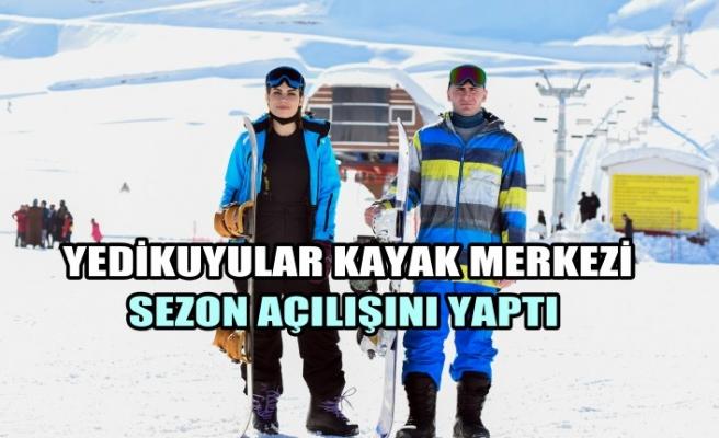 """""""Yedikuyular Kayak Merkezi"""" Sezon Açılışını Yaptı"""