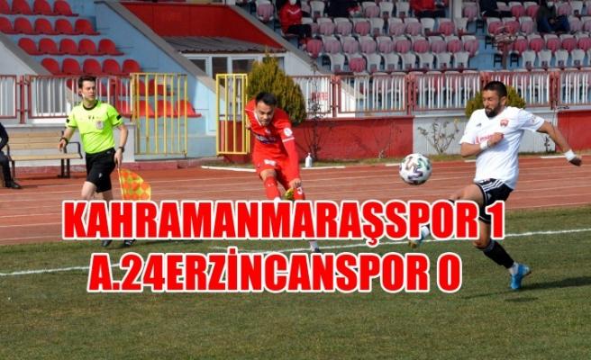 Kahramanmaraşspor 1 - A.24Erzincanspor 0