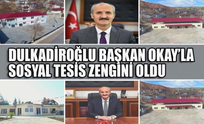 Dulkadiroğlu Başkan Okay'la Sosyal Tesis Zengini Oldu