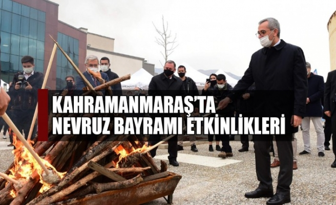 Kahramanmaraş'ta Nevruz Bayramı Etkinlikleri