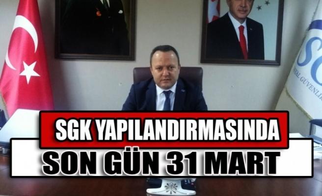 SGK Yapılandırmasında Son Gün 31 Mart