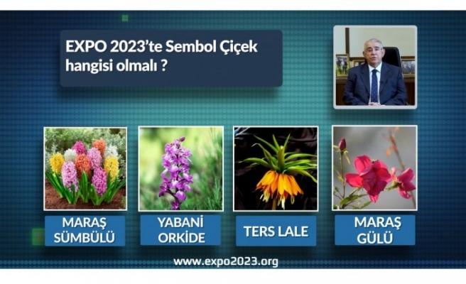 Başkan Mahçiçek: Vatandaşların Oylarıyla EXPO 2023 Sembol Çiçeğini Belirliyor