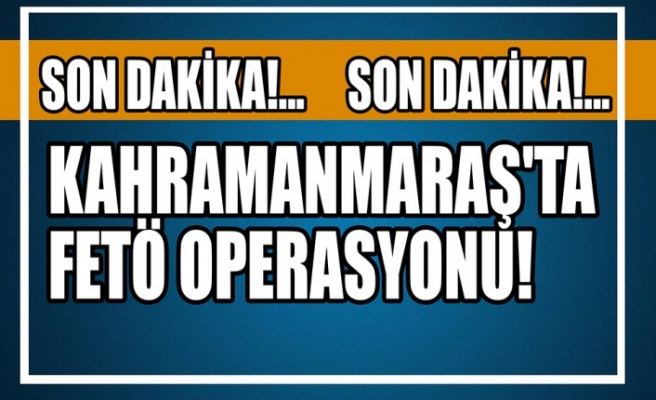 Kahramanmaraş'ta 2 Firari FETÖ/PDY Hükümlüsü Yakalandı