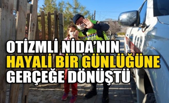 Otizmli Nida'nın Jandarma Olma Hayali Bir Günlüğüne Gerçeğe Dönüştü