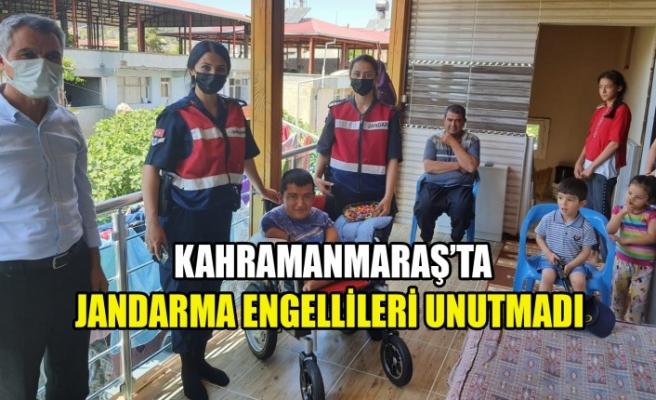 Jandarma Engellileri Unutmadı