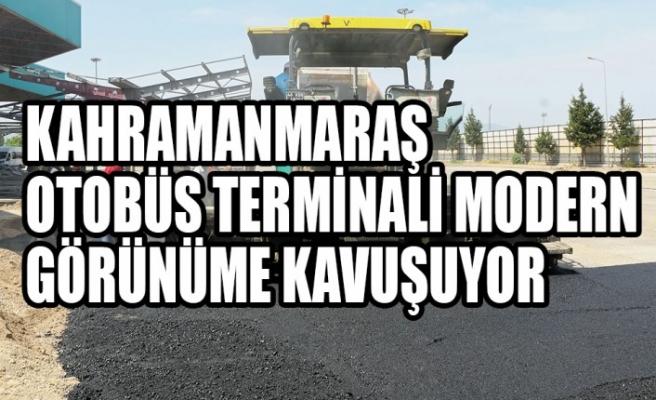 Kahramanmaraş Otobüs Terminali  Modern Görünüme Kavuşuyor