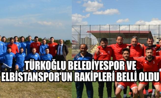 Türkoğlu Belediyespor ve Elbistanspor'un Rakipleri Belli Oldu