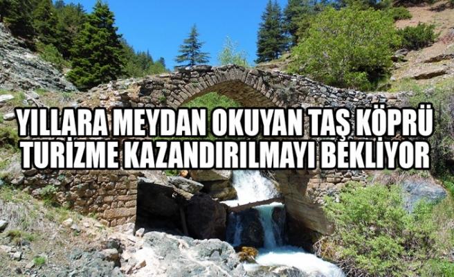 Yıllara Meydan Okuyan Taş Köprü Turizme Kazandırılmayı Bekliyor