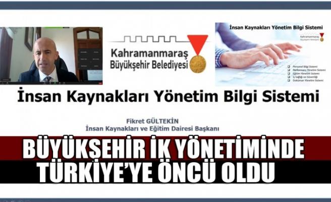 Büyükşehir İK Yönetiminde Türkiye'ye Öncü Oldu