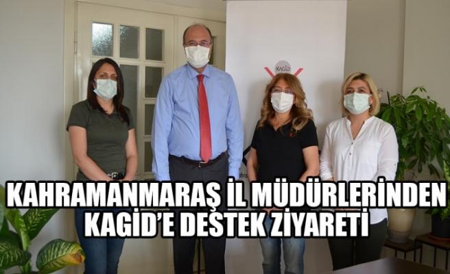 Kahramanmaraş İl Müdürlerinden KAGİD'e Destek Ziyareti