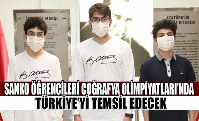 SANKO Öğrencileri Coğrafya Olimpiyatları'nda   Türkiye'yi Temsil Edecek