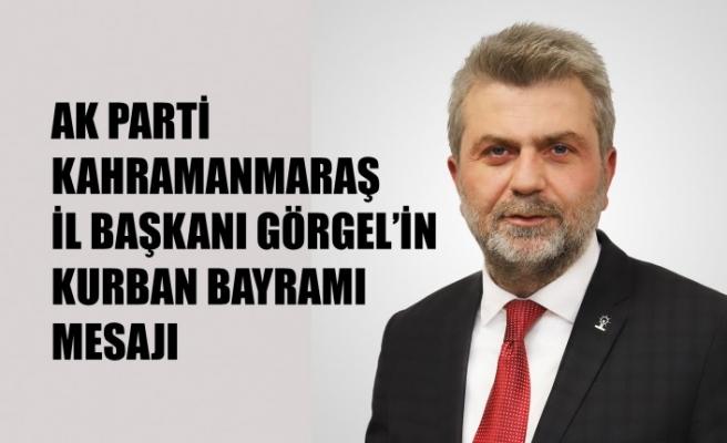 Başkan Görgel'in Kurban Bayramı Mesajı