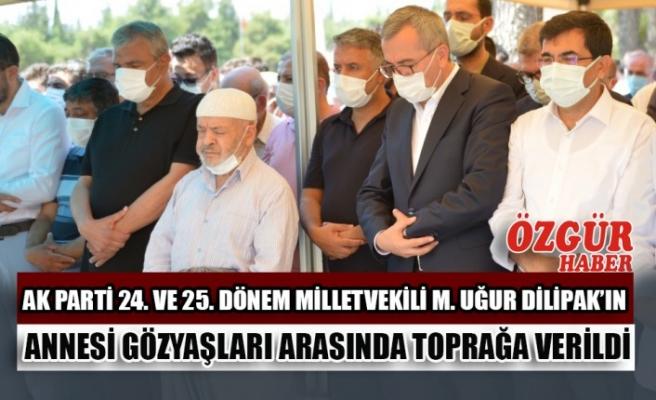 AK Parti 24. Ve 25. Dönem Milletvekili M. Uğur Dilipak'ın Annesi Gözyaşları Arasında Toprağa Verildi