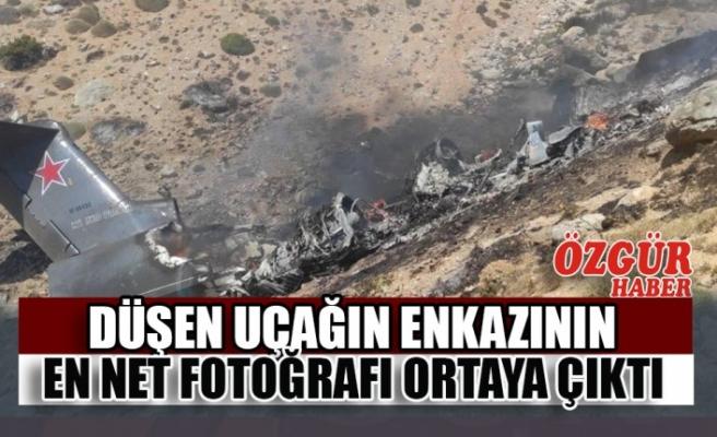 Düşen Uçağın Enkazının En Net Fotoğrafı Ortaya Çıktı