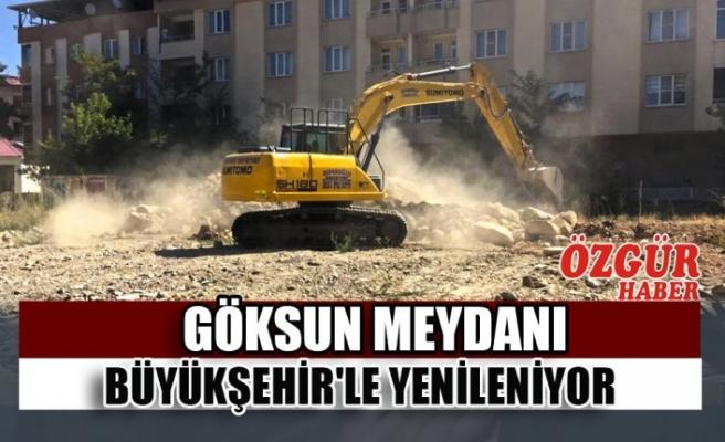 Göksun Meydanı Büyükşehir'le Yenileniyor