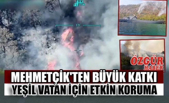 Mehmetçik'ten Yeşil Vatan'ın Korunmasına Büyük Katkı
