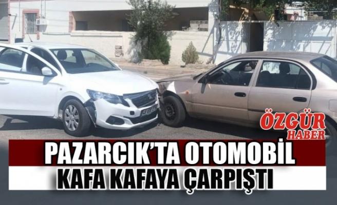 Pazarcık'ta Trafik Kazası