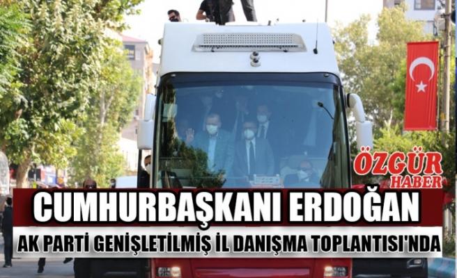 Cumhurbaşkanı Erdoğan Ak Parti Genişletilmiş İl Danışma Toplantısı'nda