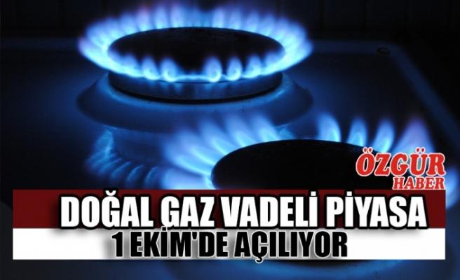 Doğal Gaz Vadeli Piyasa 1 Ekim'de Açılıyor