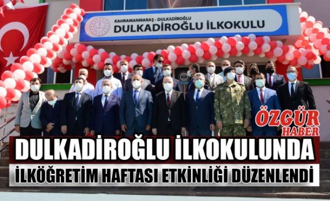 Dulkadiroğlu İlkokulunda İlköğretim Haftası Etkinliği Düzenlendi