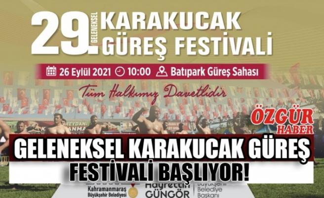 Geleneksel Karakucak Güreş Festivali Başlıyor!