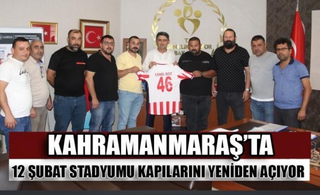 Kahramanmaraş'ta 12 Şubat Stadyumu Kapılarını Yeniden Açıyor