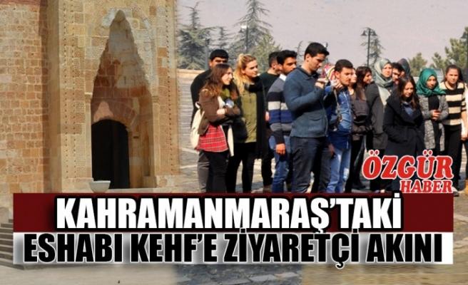 Kahramanmaraş'taki Eshabı Kehf'e Ziyaretçi Akını