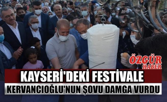 Kayseri'deki Festivale Kervancıoğlu'nun Şovu Damga Vurdu