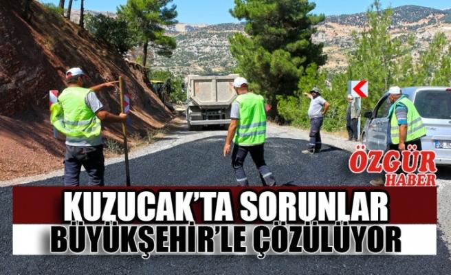 Kuzucak'ta Sorunlar Büyükşehir'le Çözülüyor