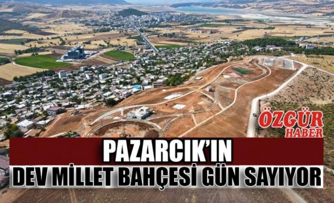 Pazarcık'ın Dev Millet Bahçesi Gün Sayıyor