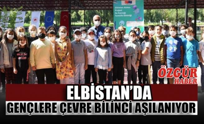 Elbistan'da Gençlere Çevre Bilinci Aşılanıyor
