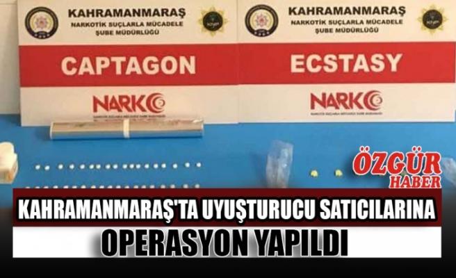 Kahramanmaraş'ta Uyuşturucu Satıcılarına Operasyon Yapıldı