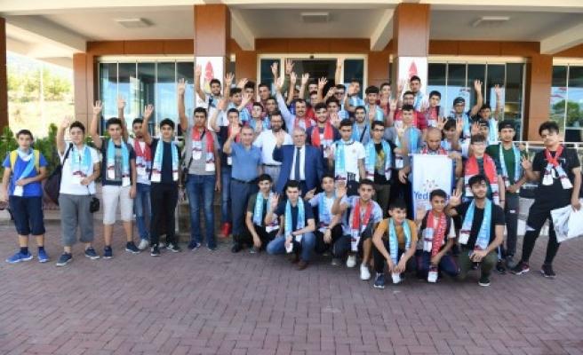 48 Medeniyetin Gençleri Onikişubat'ta Buluştu