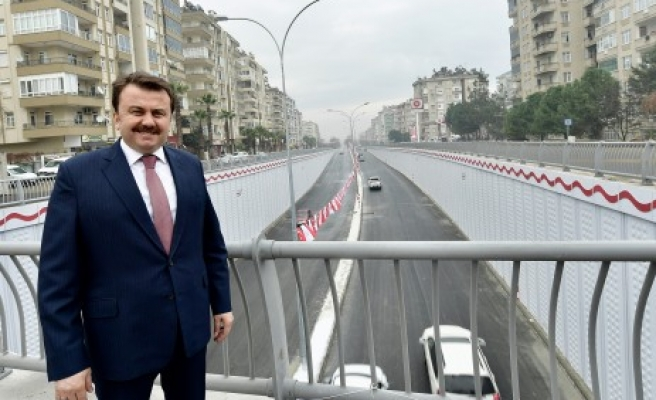 Abdulhamit Han Kavşağı Açıldı