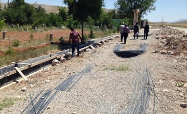 Afşin Asri Mezarlığı'na Yeni Çehre
