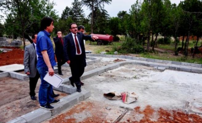 Afşin Belediyesi Mesire Alanı Çalışmalarına Başladı